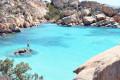 Arcipelago della Maddalena, isola Caprera, spiaggia Cala Coticcio. Paradiso terrestre