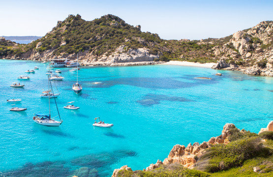 Arcipelago della Maddalena, Spiaggia di Cala Corsara